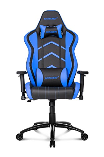 417oLsKZ61L - AKRacing-Player-Super-Premium-Gaming-Chair-with-High-Backrest-Recliner-Swivel-Tilt-Rocker-and-Seat-Height-Adjustment-Mechanisms-with-510-warranty-Blue
