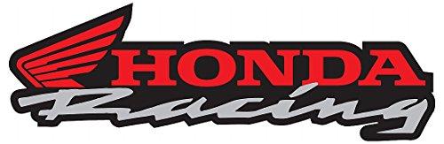 Honda Racing Motorcycle CBR RR 600 1200 Logo'd Full Color Window Decal (Cbr Decal)