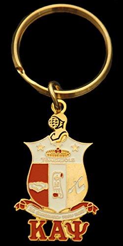 Kappa Alpha Psi (KAP) - Shield Keychain (Kappa Alpha Key Ring)