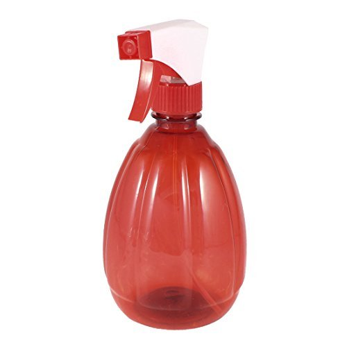 DealMux Plastic Salon gatilho pulverizador da bruma Garrafa de Spray 540ml Clear White Red