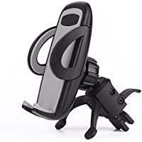 Car Mount,CHYING Car Holder,Universal Air Vent Car Mount Holder cradle with Quick Release Button 360°Rotation Cradle for iPhone x 8 7 7Plus 6s Plus 6s,Samsung S8 S7 Edge and all Smartphones.