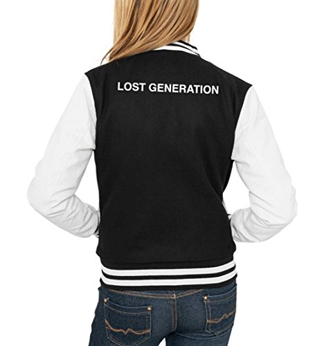 Lost Generation College Vest Girls Noir Certified Freak