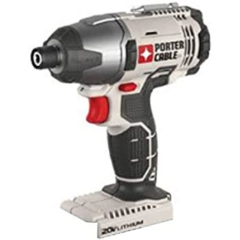 """Porter Cable 20v Max Lithium Ion 1/4"""" Hex Impact Driver (PCC641 Bare Tool) (Bulk Packaging)"""
