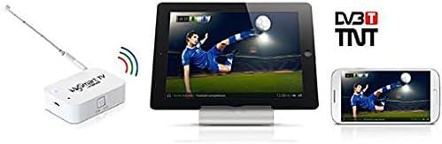 Konix MySmart TV - Receptor de TDT inalámbrico para Smartphone (Wi-Fi), Color Blanco: Amazon.es: Electrónica