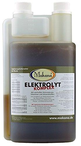 Makana Elektrolyt KOMPLEX mit Lysin Methionin Zink, 1er Pack (1 x 1 l)