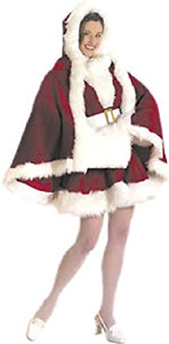 Mrs Claus Robe (Velvet Cape and Muff Set)