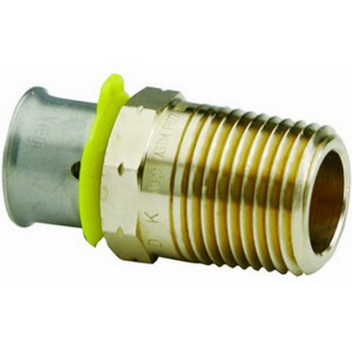 Viega PureFlow 2811ZL Bronze PEX Adapter, 1/2'' by Viega