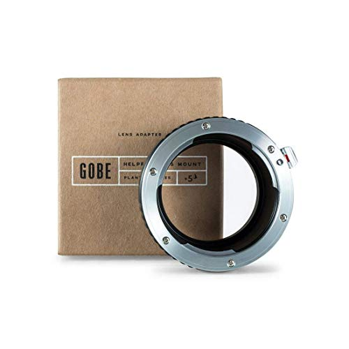 Gobe Lens Mount Adapter: Compatible with Leica R Lens and Sony E Camera Body (Leica R Lens)
