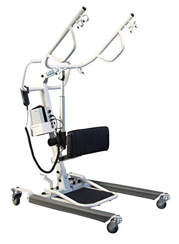 Lumex Sit-to-Stand Battery-Powered Patient Lift, 400 LB Capacity, LF2020 (Invacare Lift)