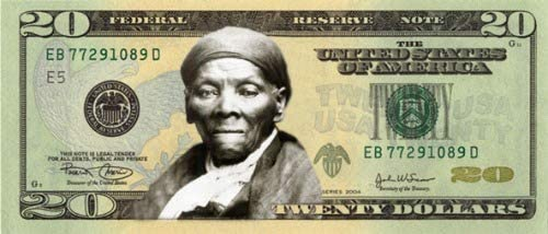 Amazon Com Conversationprints Harriet Tubman 20 Dollar Bill Glossy Poster Picture Photo Print Money Cool Posters Prints