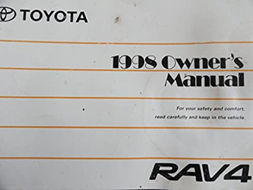 1998 toyota rav4 owner s manual toyota motor corporation amazon rh amazon com 1998 toyota rav4 repair manual pdf 1998 toyota rav4 repair manual
