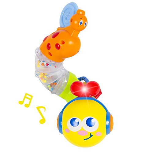 Musical Caterpillar Twist and Rattle with Lights and Sound