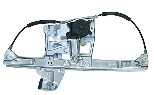 (VioGi Fit Front Driver (Left) Side Power Window Regulator w/ Motor For 00-01 Cadillac DeVille)