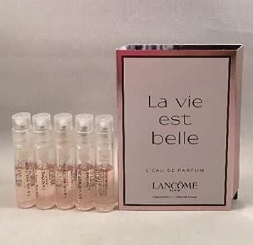 Amazon.com : 5 la vie est belle Spray Sample Perfume Travel Vial ...
