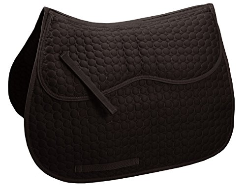 Derby Originals Extra Comfort All Purpose English Saddle Pad with Removable Memory ()