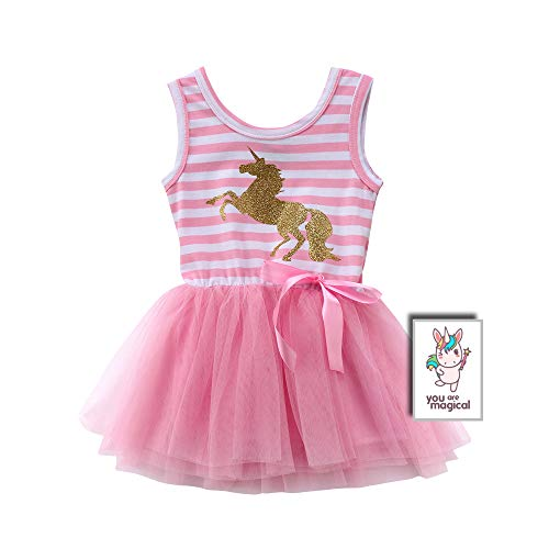 (Pink Unicorn Tutu Dress for Babies and Toddlers)