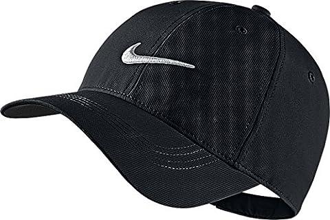 Nike Mens Golf Legacy91 Tech Adjustable Hat Black/White 727042-010