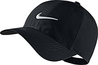 Nike Mens Golf Legacy91 Tech Adjustable Hat Black/White 727042-010