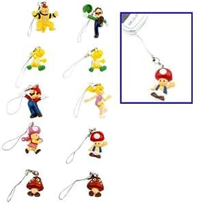 Mobile Phone Chain Super Mario Bros Kart gadget para juegos de consola y teléfono móvil