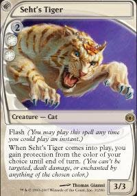 Magic: the Gathering - Seht's Tiger - Future Sight ()