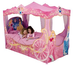 Disney Princess Carriage Bed Canopy  sc 1 st  Amazon UK & Disney Princess Carriage Bed Canopy: Amazon.co.uk: Toys u0026 Games