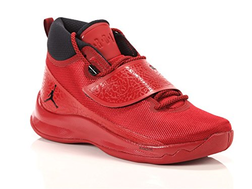 Jordan Men's Super Fly 5 Basketball Shoes (8 D(M) US, Gym Red/Black-Gym Red) (Air Jordan 5 Fire Red Black Tongue 2013)