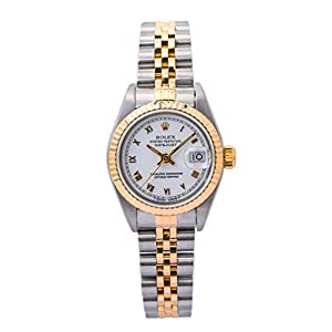 Best Epic Trends 417oTxqoNFL._SS300_ Rolex Datejust Automatic-self-Wind Female Watch 69173 (Certified Pre-Owned)