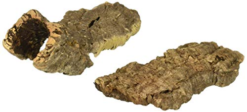 Zoo Med (2 Pack) Natural Cork Bark Flat, Small