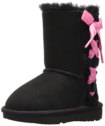 UGG Girls T Pala Pull-on Boot, Black, 9 M US Toddler -