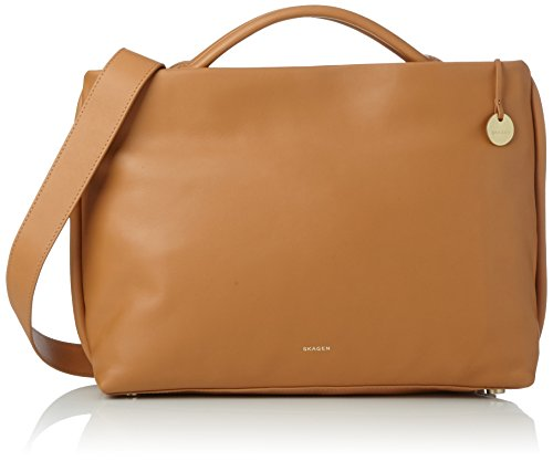 tan Skagen Brown Woman Briefcase Bags Mikkeline xXgW8XqR