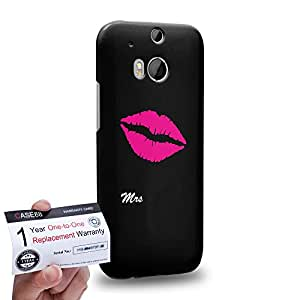 Case88 [HTC One M8] 3D impresa Carcasa/Funda dura para & Tarjeta de garantía - Art Fashion Mrs Desgin