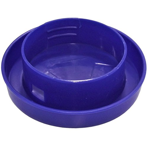 QUAIL & CHICK POLY SAFETY WATERER DRINKER BASE FOR ONE QUART JAR CHICKEN CHICKS Waterer Base