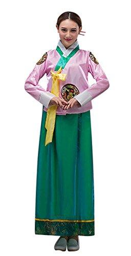 Korean Costume Ideas (CRB Fashion Womens Ladies Korean Traditional Dress Costume Outfit (USA Medium,)