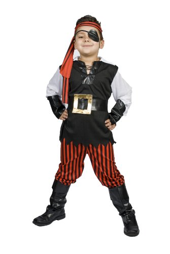 $2299.00 ...  sc 1 st  Funtober & Kids Child Boys Pirate Halloween Costume Size M 5678 Years Old ...