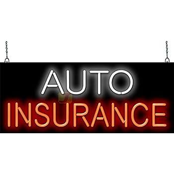 Auto Insurance Neon