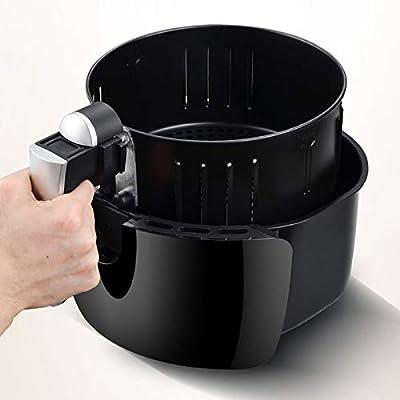 DSAEFG Freidora de Aire Caliente de 2,6 litros Freidora de Grasa ...