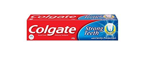 Colgate Toothpaste Strong Teeth Dental Cream – 200 g (Anti-cavity)