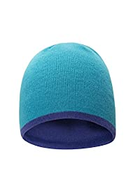 Mountain Warehouse Chamoix 2 Kids Beanie - Lightweight, Warm & Knitted Fabric with Comfortable Fit & Stylish Design - Great Choice for The Slopes Or Everyday Wear