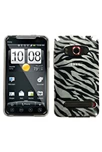 Issmor - Asmyna HTCEVO4GCASKCA083 Slim and Durable Protective Cover for HTC EVO 4G - 1 Pack - Retail Packaging - Clear