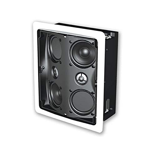 Definitive Technology in-Wall RSS III Referance Ceiling Surround/Wall Speaker (Single, White)