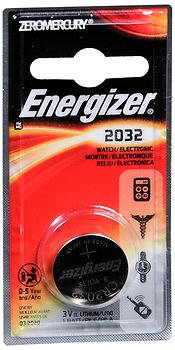 BATTERY WTCH/ELEC 2032 (Pkg of (Ecr2032bp Watch)