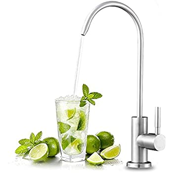 faucet for filtered drinking water. FLG Stainless Steel Kitchen Sink Reverse Osmosis Filter Drinking Water  Purifier Faucet Beverage Filtration HOMEIDEAS Single Handle Filtered