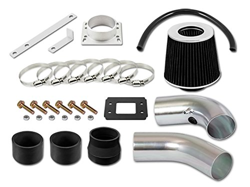 Filter 95-97 for Ford Ranger All Model with 2.3L 4-Cyl ST Racing Black Short Ram Air Intake Kit