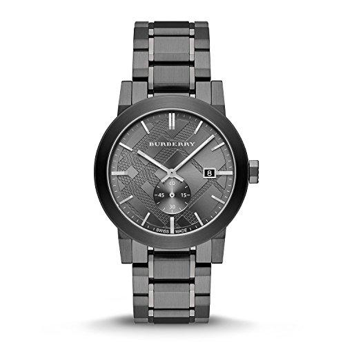 Burberry-Mens-City-BU9902-Grey-Stainless-Steel-Swiss-Quartz-Watch-with-Grey-Dial
