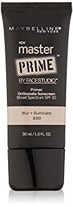 Maybelline New York Face Studio Master Prime Makeup, Blur Plus Illuminate, 1 Fluid Ounce