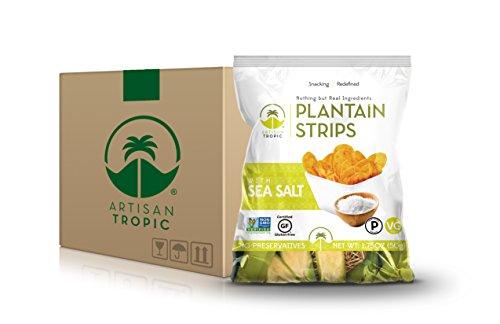 Artisan Tropic Plantain Strips: Sea Salt 1.75oz (16 pack) by Artisan Tropic