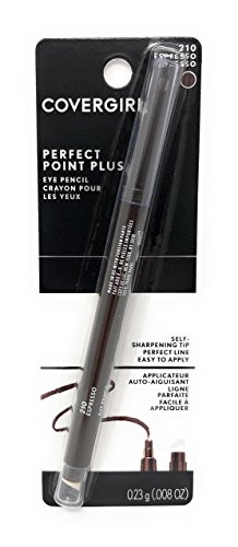 CoverGirl Perfect Point Plus Eyeliner, Espresso  210, 0.008