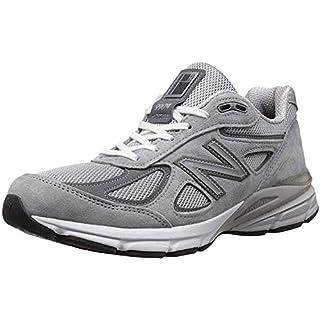 New Balance Men's 990v4 Sneaker, Grey, 12 D US