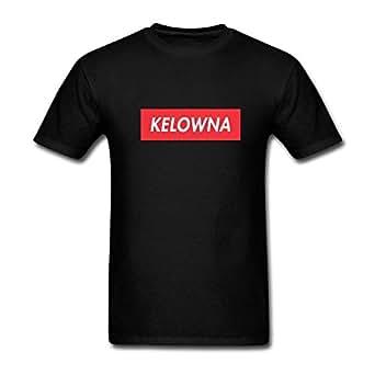 Amazon.com: GGSsd Men's Kelowna Short Sleeve DIY Tee T