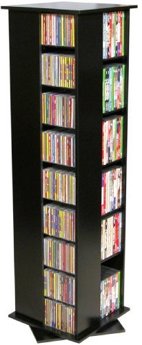 Venture Horizon Revolving Media Tower 600 - Rack Storage Dvd